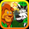 Jigsaw Zoo Animal Puzzle - Animated Puzzles for Kids with Funny Cartoon Animals! Image