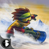 DownHill Racing: Crazy Winter Snowboard Race Image