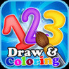 123 Draw and Coloring Image