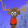 Christmas Moose Image