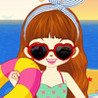Beach Dressing Up Image