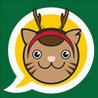 AouAou Cat Xmas Cards Image