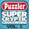 Puzzler Super Cryptic Crosswords - Volume 1 Image