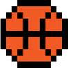 8-bit Basketball Image