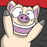 Ham and Pig's Escape the Farm Game: A Fun Bacon Racing Adventure Image