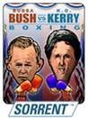 Bush vs. Kerry Boxing Image