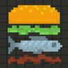 Pixel Burger Image