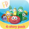 Step-by-Story - The Veggie Tales Collection - A Fingerprint Network App Image