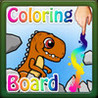 Coloring Board - Coloring for kids - Dinosaurs Image