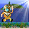 Running Underwater Image