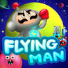 Abs : Flying Man Image