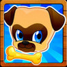 Where's my lost pet pug? Benji & Muzy on a Fun Puppy dog Running Race game for kids Image