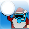 Santa Snow Ball Image