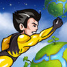 Super Hero Action Man - Best Fun Adventure Race to the Planets Game Image