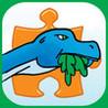 Dinosaur Jigsaw Puzzles - Fun Animated Puzzle Fun for Kids with HD Cartoon Dinosaurs Image