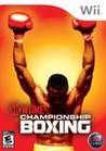 Showtime Championship Boxing Image