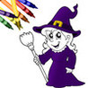Halloween Coloring Book! Image