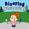 Blue Flag White Flag Image