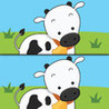 Find the Differences: Farm Animals Image
