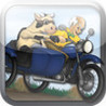 Harold and Cow Sidecar Bike Race: The Great Escape. Image