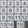15 Numbers Slide Puzzle - Logic Brain Game Image