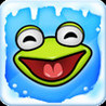 Frog on Ice Image