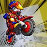 Motocross Challenge Doodle Image