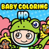 Baby Coloring HD Image