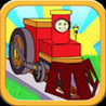 Trains Story Puzzles - The Little Engine Who Saved the Carnival! Image