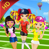 iCheerleader HD - Dress up and makeup game Image