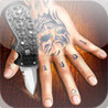Finger crash - The Rusty Cage ' Knife Game Song ' official game Image