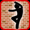 Hole in The Wall Stick Man Image