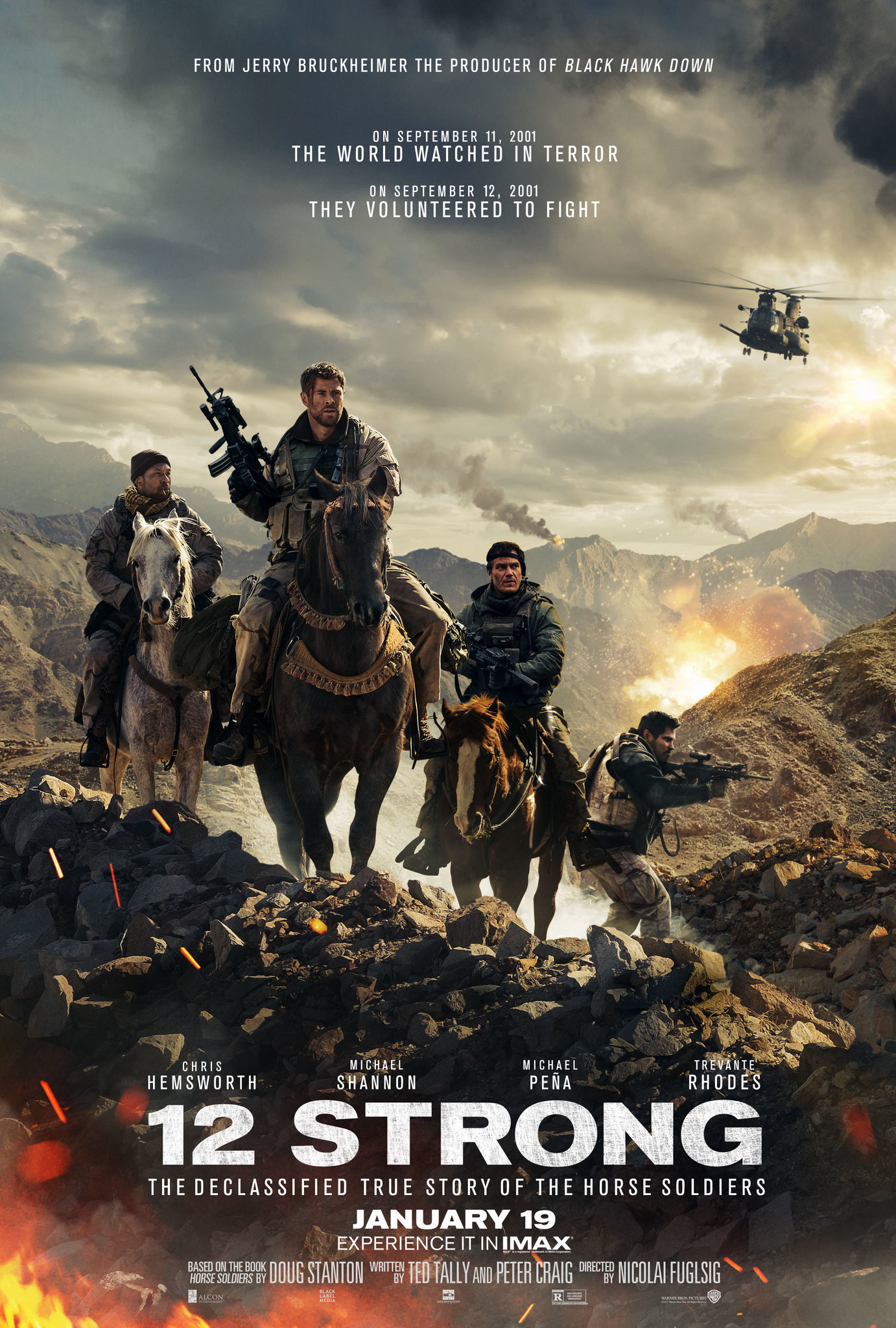 12 Strong Details And Credits