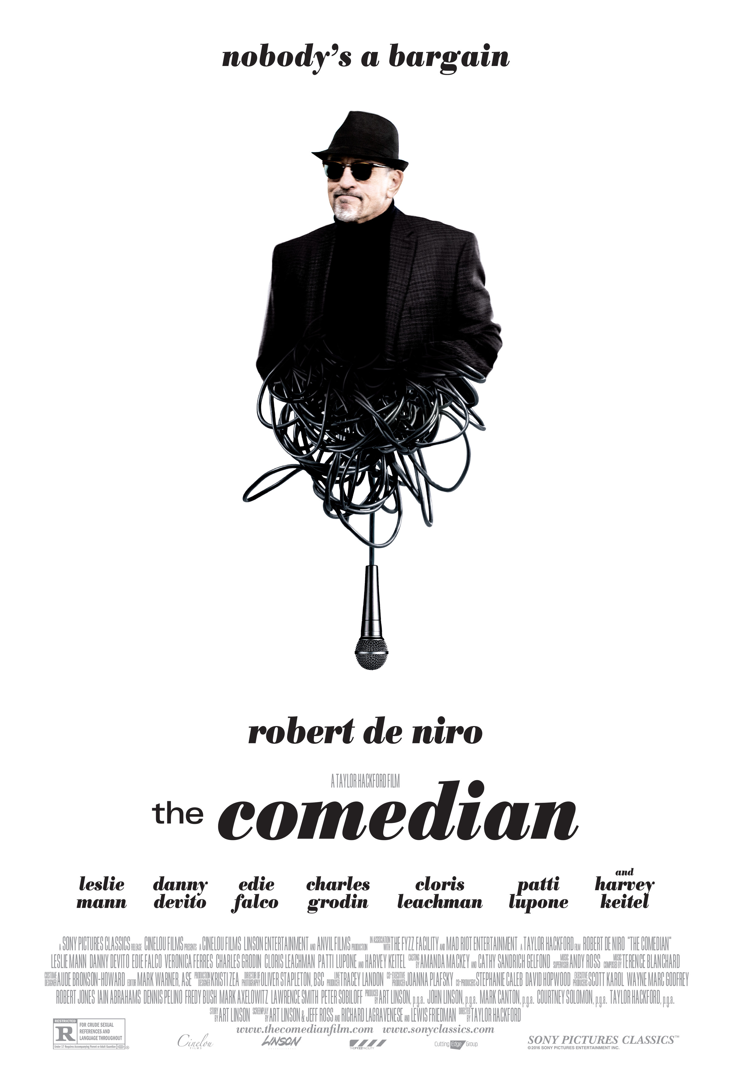 The Comedian Details And Credits