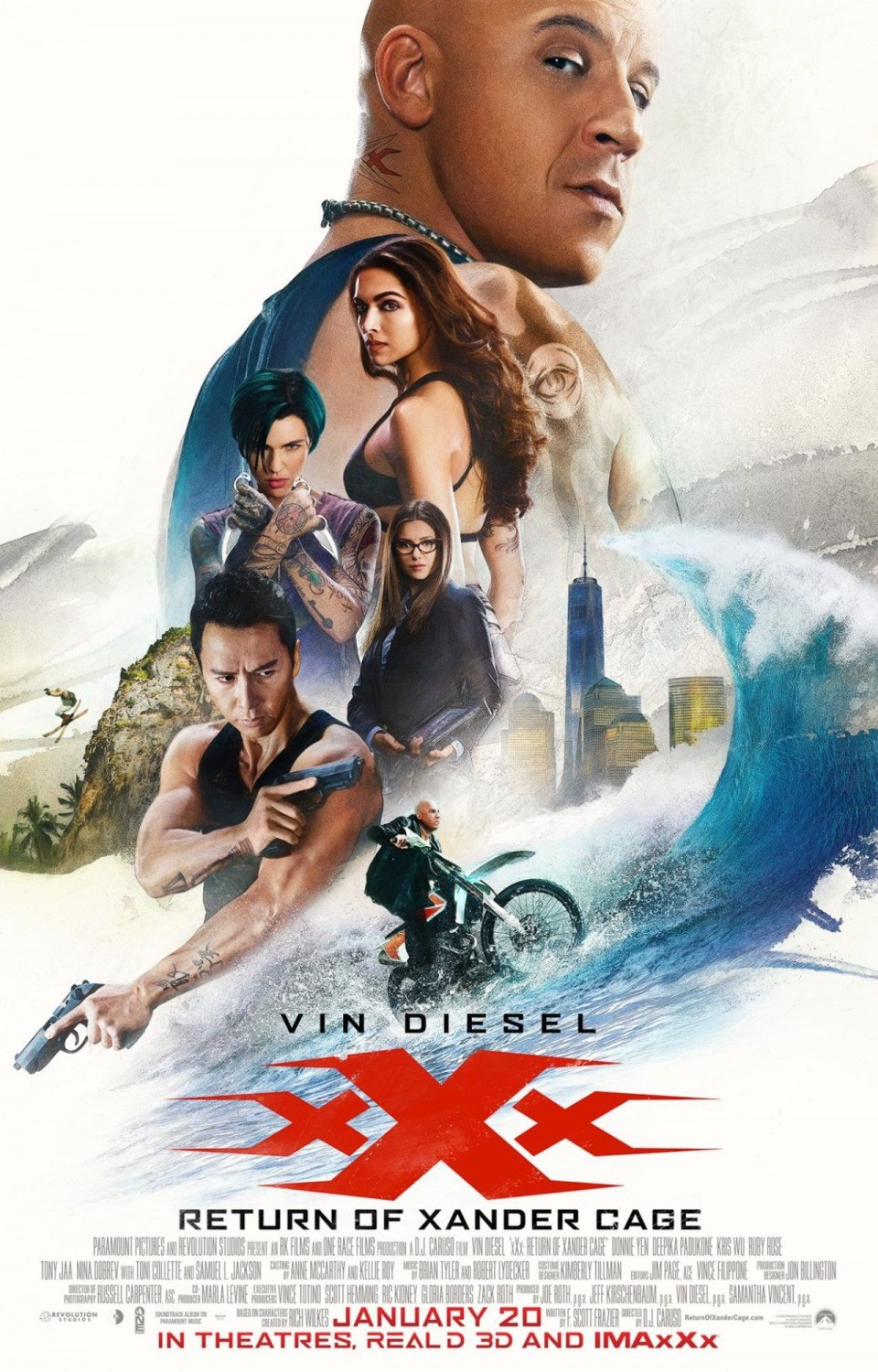 XXX: Return of Xander Cage 8th Day Box Office Collection
