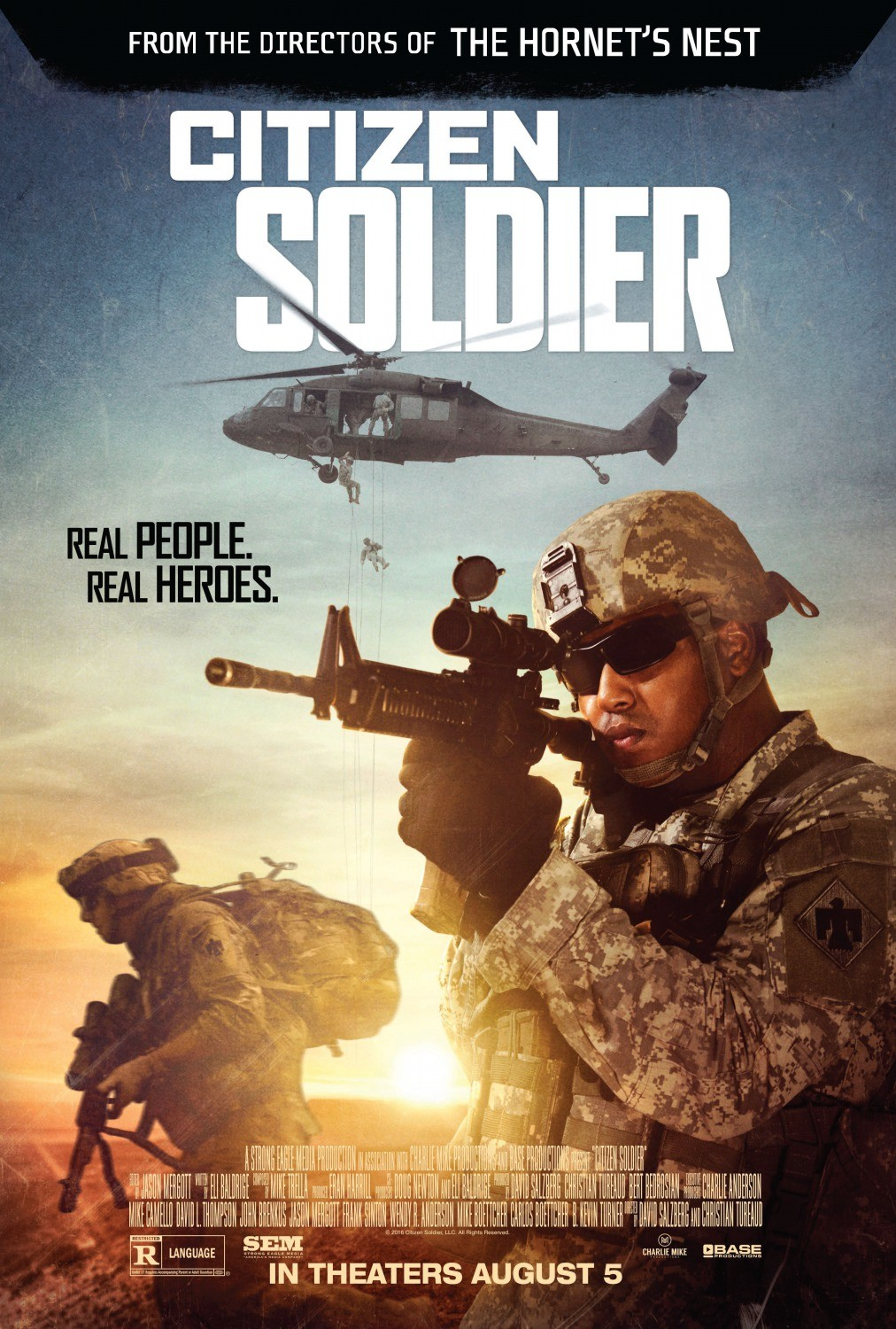 citizen soldier Citizen soldier is not the first movie to capture the experience of combat in afghanistan, but it may be the most immersive.