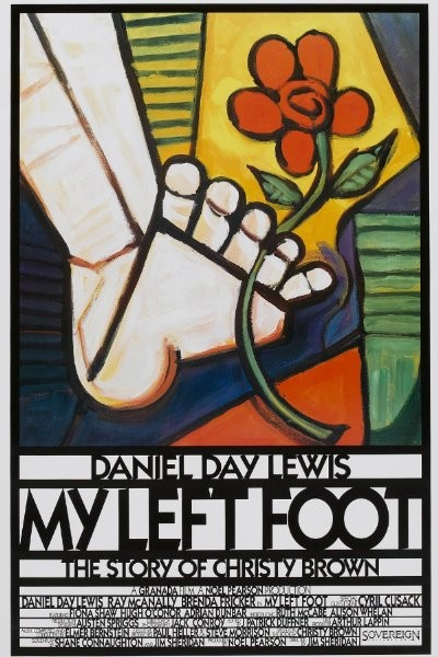 a review of my left foot a movie about the life of christy brown Home about me book reviews  this is an autobiography of christy brown, a  child who had athetoid cerebral  his story was made popular through an  academy award winning movie which came out in 1989 based on the book   just because i used my left foot to do the things that others did with their.