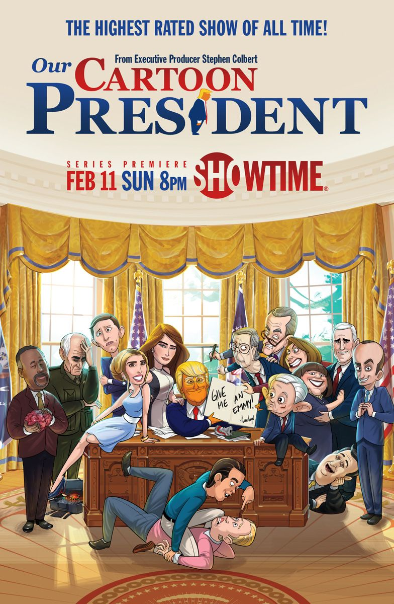 our cartoon president showtime from ep stephen