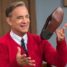 Hanks = Mister Rogers