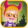 Baby Hazel Halloween Castle Image