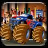 Big Monster Truck Race - Vegas Survival Racing Challenge Image