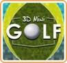 3D MiniGolf Image