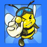 Angry Bee Battle Image
