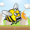 Angry Crazy Bee Image