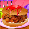 Xmas Turkey Hamburger for Christmas Day - Top Delicious  Food Game Image