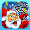 A Santa Roller Coaster Frenzy - Downhill Christmas Rollercoaster Game PRO Image