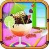 Smoothie Jellies With Ice Cream Image