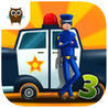 Car Builder 3 Mad Race, Police Car Chase, Hippie Van Mechanic, Monster Truck Driver and Tank Battle - Kids Game Image