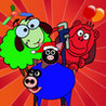 Bad Farm: with Angry Animals ( Monkey, Cow, Sheep, Pigs, Chicken ) Image