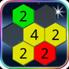Hex Maze - like sudoku - The most difficult game Image